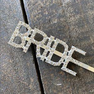 Bride Bling Hair Pin